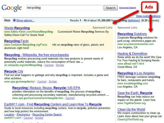 Image of a PPC - Pay Per Click Campaign
